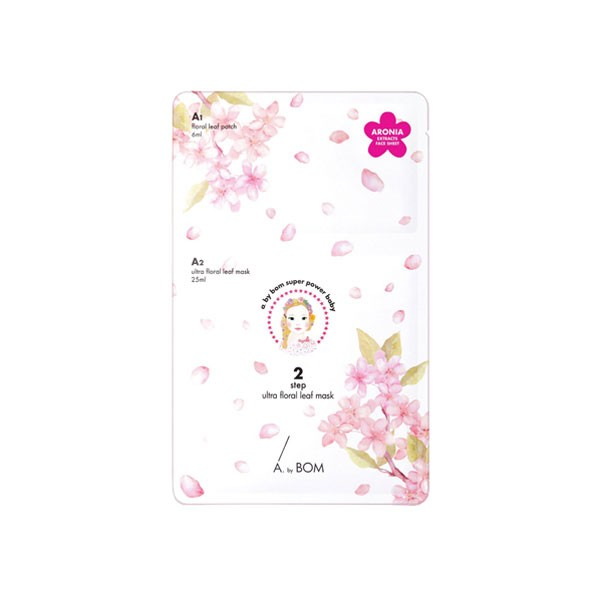 [:it]A by Bom 2 step ultra floral leaf mask[:]