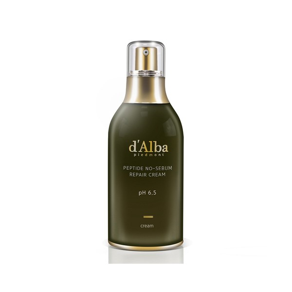 D'alba peptide no-sebum repair cream