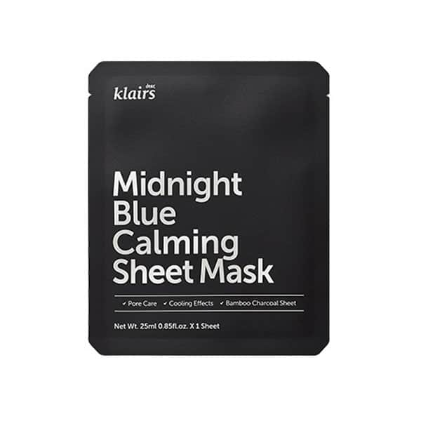 [:it]Klairs Midnight Blue Calming sheet mask[:]