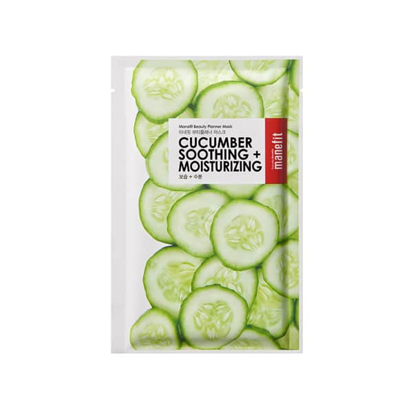 MANEFIT cucumber soothing moisturizing mask