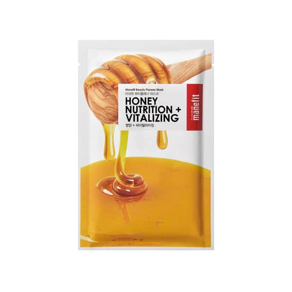 MANEFIT honey nutrition vitalizing mask