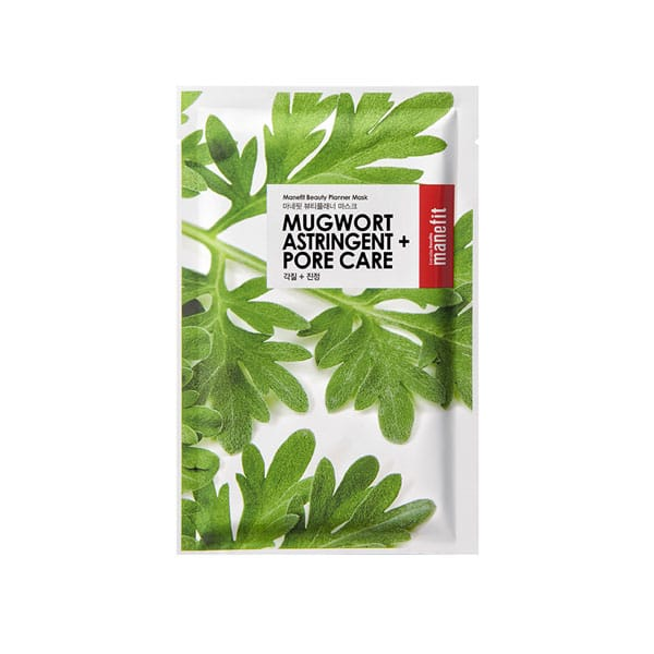 MANEFIT mugwort astringent pore care mask