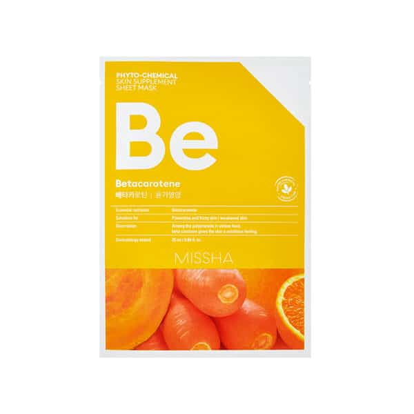 MISSHA_Phytochemical skin supplement betacarotene mask