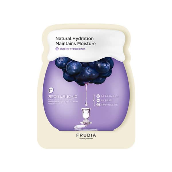 frudia blueberry hydrating mask