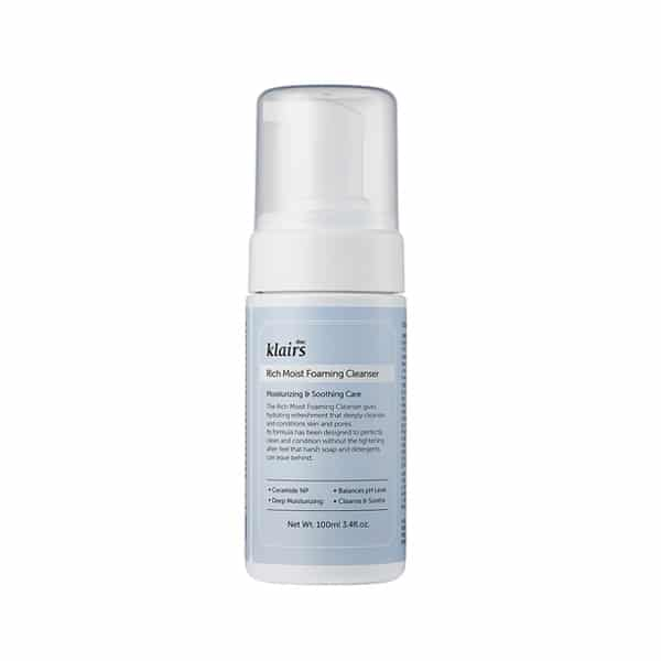 Klairs Rich Moist foaming Cleanser