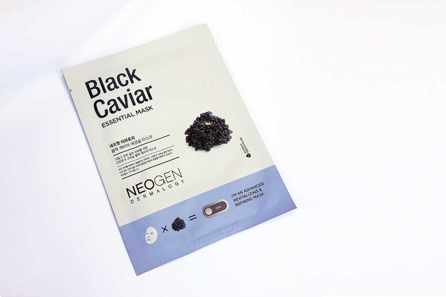 NEOGEN BLACK CAVIAR ESSENTIAL MASK