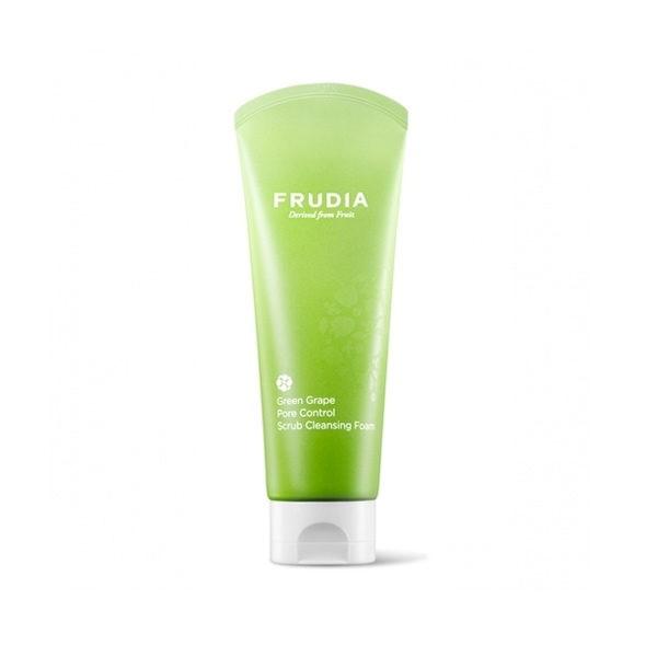 frudia green grape pore control cleansing foam