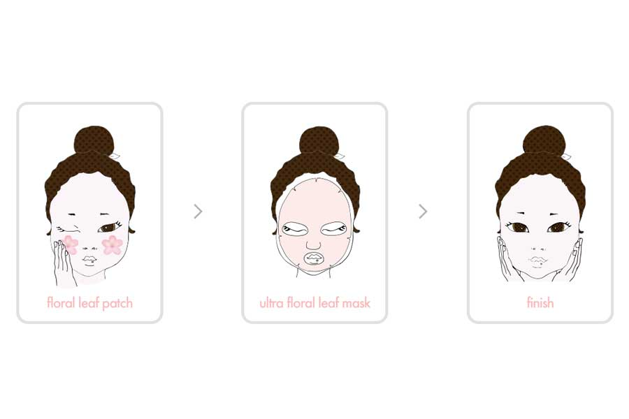 miloon a. by bom ultra floral leaf mask blog