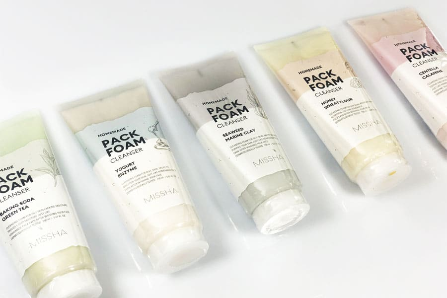 [:it]MISSHA HOMEMADE PACK FOAM CLEANSERS[:]